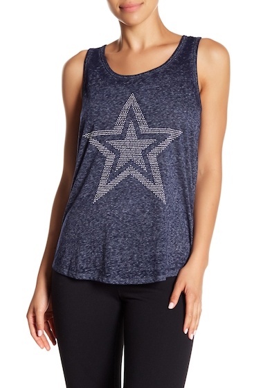 Imbracaminte Femei Marc New York Embellished Tank Top MIDNT STAR
