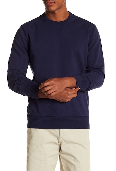 Imbracaminte Barbati MICHAEL BASTIAN French Terry Pullover UNIFORM BLUE