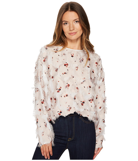 Imbracaminte Femei See by Chloe Jacquard Roses Blouse Multicolor Brown