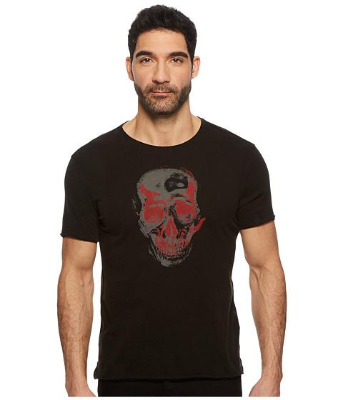 Imbracaminte Barbati John Varvatos Two-Tone Skull Graphic K3691U1B Black