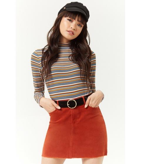 Imbracaminte Femei Forever21 Corduroy Mini Skirt RUST