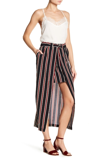 Imbracaminte Femei Know One Cares Vertical Stripe Skirt BLACKBURG