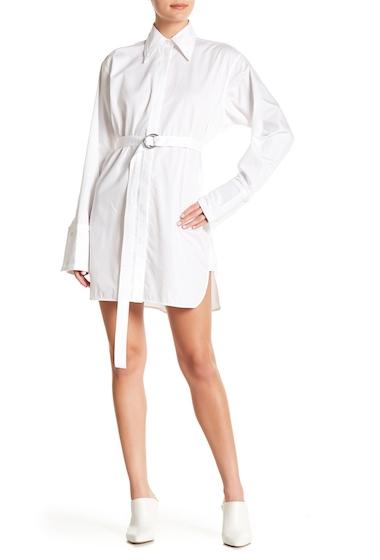 Imbracaminte Femei Helmut Lang Oversized Shirtdress OPTIC WHITE