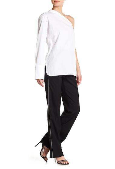 Imbracaminte Femei Helmut Lang Zipper Stretch Wool Suit Pants BLACK