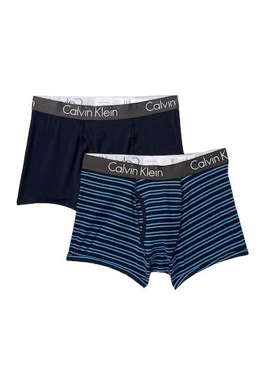 Imbracaminte Barbati Calvin Klein Strata Stretch Trunks - Pack of 2 GQR SHLNMSO ST