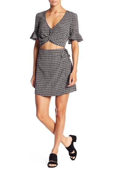 Imbracaminte Femei Honey Punch Cutout Bell Sleeve Dress BLACK