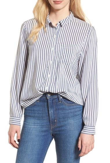 Imbracaminte Femei Leith Stripe Shirt NAVY E LUCA STP