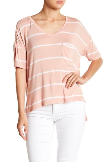 Imbracaminte Femei Abound Short Sleeve Pocket Tee PNK RSCLD LANA ST