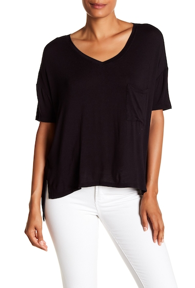 Imbracaminte Femei Abound Short Sleeve Pocket Tee BLACK