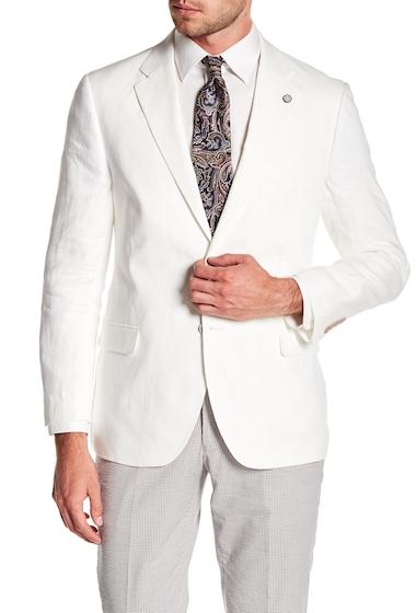Imbracaminte Barbati Nautica Linen Notch Collar Blazer WHITE