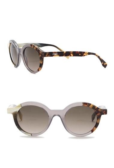 Ochelari Femei Fendi Womens 48mm Round Sunglasses 0NER-HA