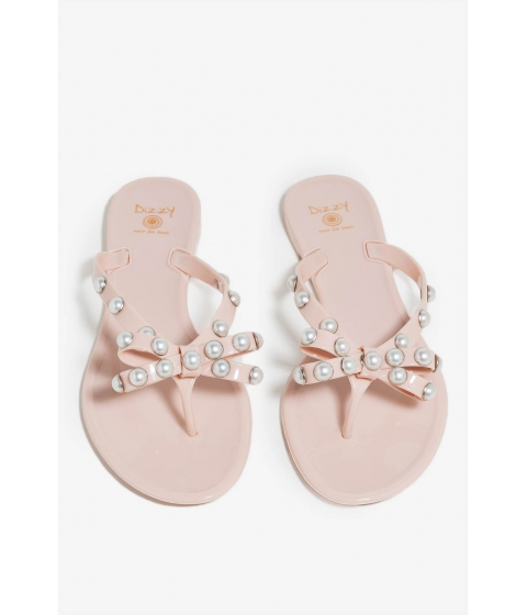 Incaltaminte Femei CheapChic Barbados Pearls Jelly Sandal Nude