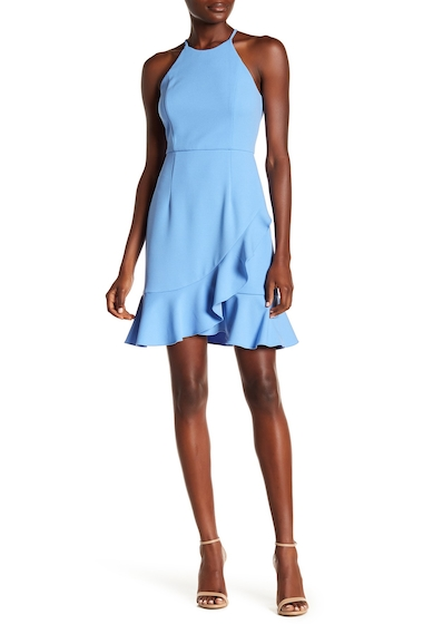 Imbracaminte Femei Donna Morgan Crepe Halter Dress BLUEBONNET