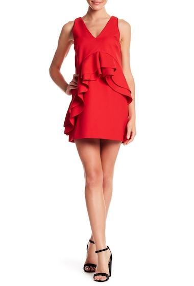 Imbracaminte Femei Kendall Kylie Ruffle Double V Dress BRD