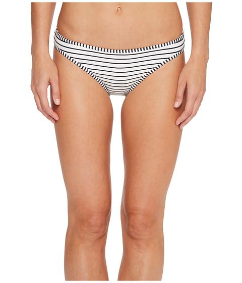 Imbracaminte Femei Vince Camuto Blossom Stripes Contrast Binding Bikini Bottoms Black