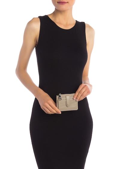 Genti Femei Steve Madden Hayden Epi Card Stacker Wallet SILVER
