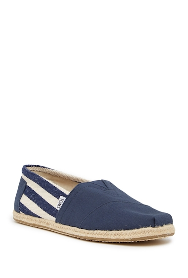 Incaltaminte Barbati TOMS Stripe University Slip-On Shoe NAVY