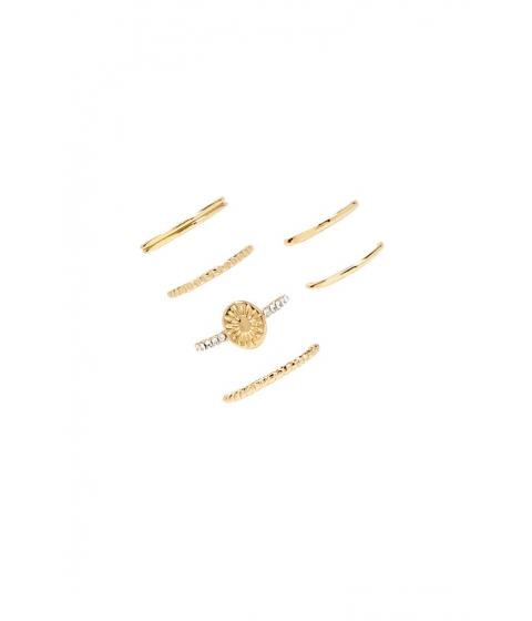 Bijuterii Femei Forever21 Stackable Sun Ring Set GOLD