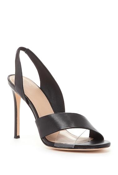 Incaltaminte Femei Pour La Victoire Elly Leather Slingback Sandal BLACK