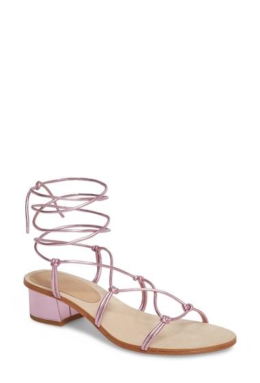 Incaltaminte Femei Pour La Victoire Jules Ankle Tie Sandal ORCHID