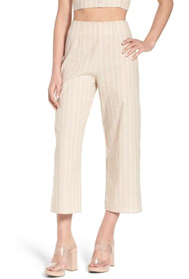 Imbracaminte Femei Leith Stripe Crop Top BEIGE MORN STRIPE