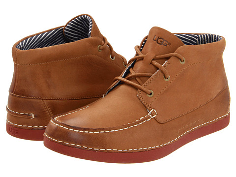 Incaltaminte Barbati UGG Kaldwell Chestnut Leather