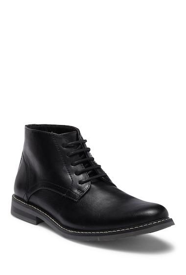Incaltaminte Barbati Steve Madden Olden Leather Chukka Boot BLACK