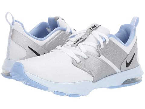 Incaltaminte Femei Nike Air Bella TR WhiteBlackMetallic SilverHalf Blue