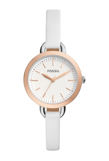 Ceasuri Femei Fossil Womens Classic Quartz Watch 32mm SILVER