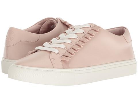Incaltaminte Femei Tory Burch Ruffle Sneaker Shell PinkShell Pink