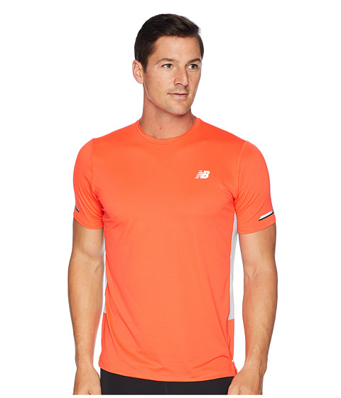 Imbracaminte Barbati New Balance NB ICE 20 Short Sleeve Flame