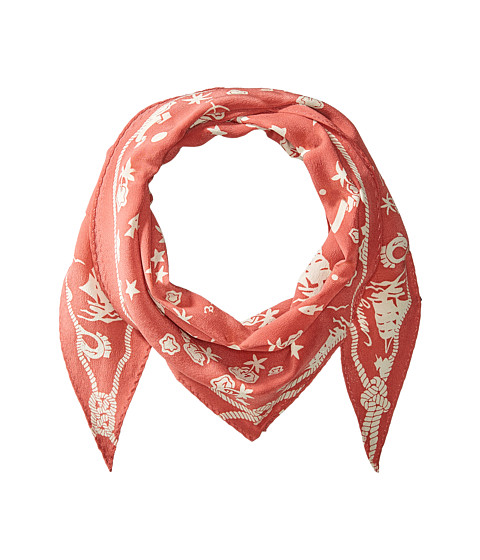 Accesorii Femei Polo Ralph Lauren Dutch Nautical Diamond Shape Scarf Adirondack BerryClubhouse Cream