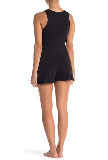 Imbracaminte Femei Calvin Klein Sleeveless Short 2-Piece Set 001 BLACK
