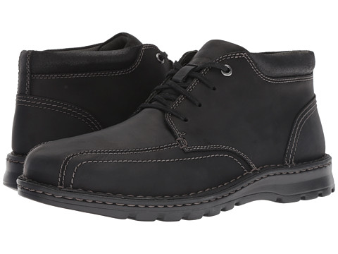 Incaltaminte Barbati Clarks Vanek Mid Black Leather