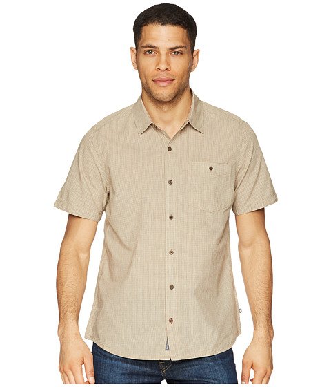 Imbracaminte Barbati ToadCo Airbrush Levee Short Sleeve Shirt Honey Brown