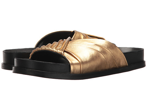 Incaltaminte Femei Sigerson Morrison Amanda Gold Metallic Leather