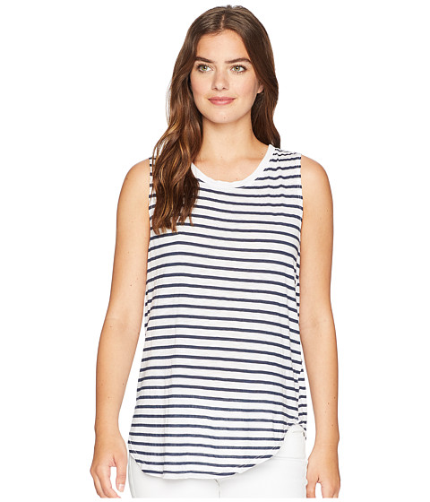Imbracaminte Femei Michael Stars Riviera Stripe Shift Tank Top White