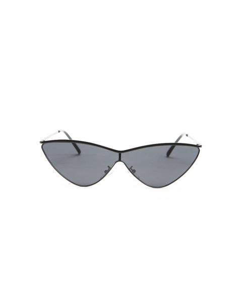 Ochelari Femei Forever21 Premium Mirrored Cat-Eye Sunglasses BLACK