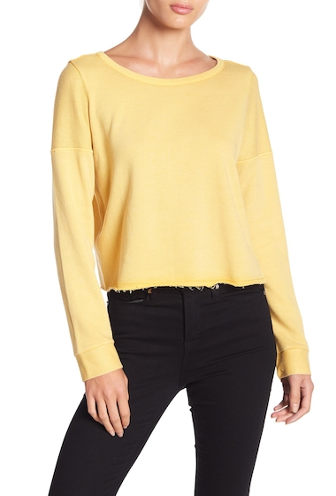 Imbracaminte Femei Melrose and Market Cropped Pullover Sweater Regular Petite YELLOW OCHRE