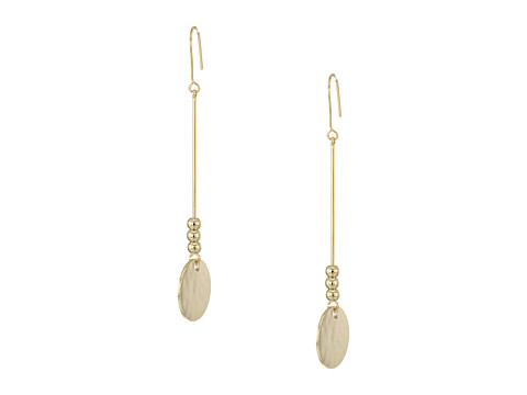 Bijuterii Femei French Connection Disc Stick Linear Earrings Gold