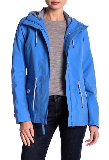 Imbracaminte Femei Helly Hansen Elements Hooded Rain Jacket 503 BLUE WATER