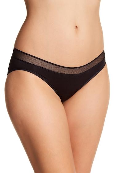 Imbracaminte Femei DKNY Mesh Trim Bikini B7PDK BLA