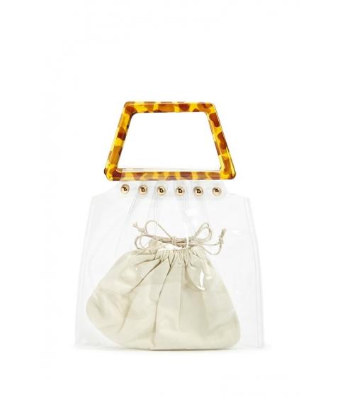 Genti Femei Forever21 Transparent Trapezoid Handbag CLEAR