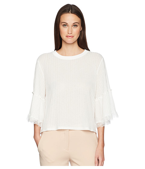 Imbracaminte Femei See by Chloe Lacey Jersey Tee Cloudy White