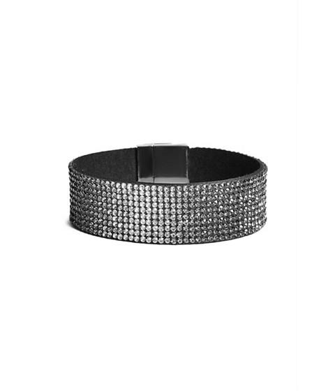 Bijuterii Femei GUESS Black Ombre Magnetic Cuff Bracelet black