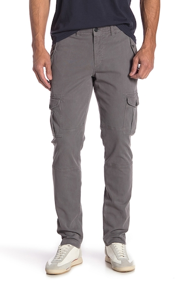 Imbracaminte Barbati MICHAEL BASTIAN Stretch Twill Cargo Pants GREY