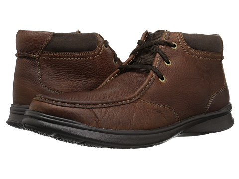 Incaltaminte Barbati Clarks Cotrell Top Tobacco Leather