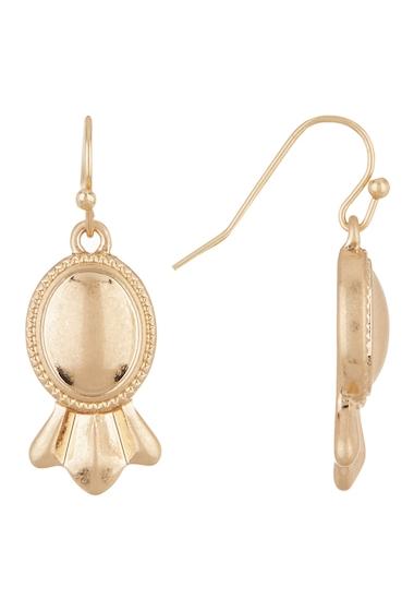 Bijuterii Femei Melrose and Market Oval Drop Earrings GOLD