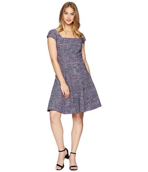 Imbracaminte Femei Rebecca Taylor Sleeveless Stretch Tweed Dress Multi Combo