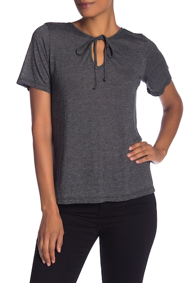 Imbracaminte Femei Michael Stars Front-To-Back Top BLACK